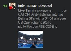 Photo: Team #Murray is following us on Twitter - Come & Join us at twitter.com/livetennis