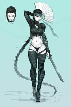 Shinobi Girl 1 by AlekseyBayura