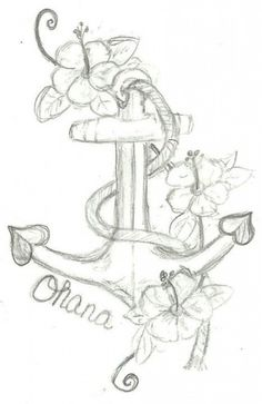 So i might get this tattoo. I wanted an Ohana tattoo and i love the anchor!