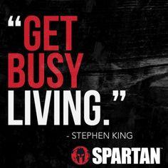 Live a little. #SpartanRace