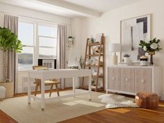 Designing a home office? Work from home in style and get inspired with these 7 modern home office design ideas we love, from big to small. Office Space Design, Modern Office Design, Home Office Space, Office Interior Design, Office Interiors, Shared Home Offices, Modern Rustic Office, Home Office Organization, Design Design