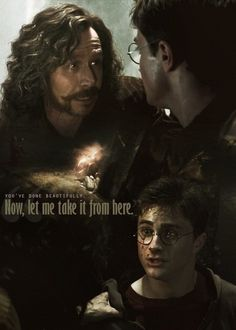 loved Serius <-- Look at those tears in Sirius's eyes, he was worried and wanted Harry as far away from the danger as possible
