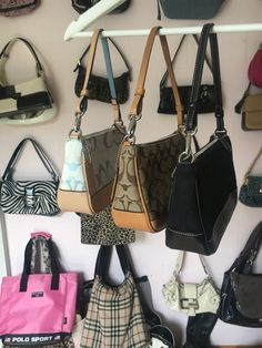 Aesthetic Bags, Aesthetic Clothes, Luxury Handbags, Purses And Handbags, Coach Shoulder Bag, Shoulder Bags, Baguette, Cute Purses, Cute Bags