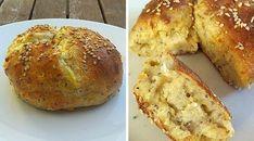 Low Carb Rezept für ein fluffiges Low-Carb Chia-Cheese-Brötchen. Wenig Kohlenhydrate und einfach zum Nachkochen. Super für Diät/zum Abnehmen.