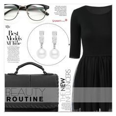 """Black Lokk"" by lucky-1990 ❤ liked on Polyvore"