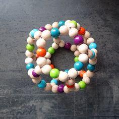 Greifball GROSS Beaded Necklace, Monster, Jewelry, Handmade, Kids, Beaded Collar, Pearl Necklace, Jewels, Schmuck