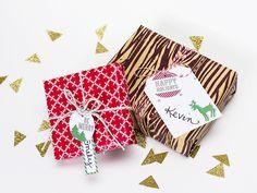 Printable Holiday Gift Tags by Sarah Hearts