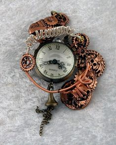 Steampunk jewelry to make