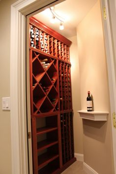 Small Space, Big Design. Why a Great Wine Cellar Doesn't Have to Break the Bank. WineRacks.com makes all of their wood wine racks right here in the USA