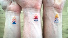 3 Siblings, 3 Triangles and 3 Colours - YouTube