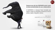 O GUEPARDO é a Solução Fiscal Completa que atende a todas obrigações fiscais. Saiba mais através do e-mail guepardo@fh.com.br ou pelo site www.fh.com.br/guepardo