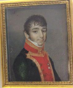 Retrato de oficial de la Marina, en el Museo de Pontevedra.