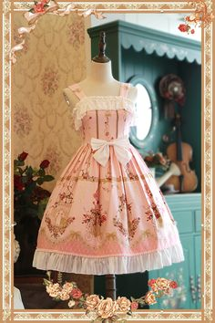 Infanta -Love and Canary- Casual Lolita JSK New Version