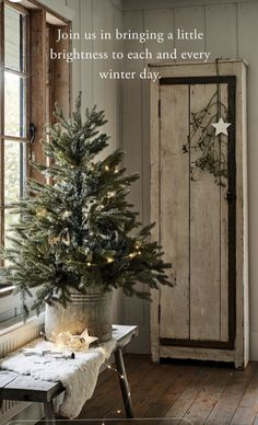Christmas lights and trees perfect to create an intimate festive atmosphere in any room Winter Wonderland Christmas, Winter Christmas, Christmas Home, Christmas Lights, Christmas Decorations, Holiday Decor, Christmas Trees, Xmas, Outdoor Christmas