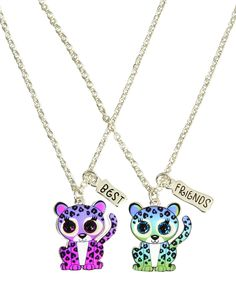 BFF Cheetah Necklaces | Animal Shop | Jewelry By Trend | Shop Justice
