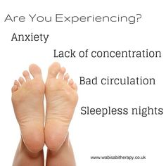 Are you experiencing? Anxiety, Lack of concentration, Bad circulation, Sleepless night! Reflexology is for you! By applying pressure to certain reflex points on your feet helps; Eliminate anxiety, Increases concentration and circulation, Transports you into a state of deep relaxation inducing a good night sleep.