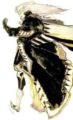 Setzer Gabbiani - Final Fantasy VI   Yoshitaka Amano