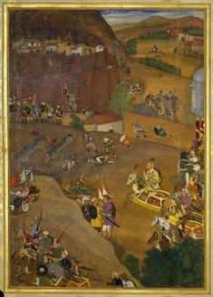 A'zam Khan captures Fort Dharur (January 1631)