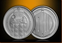 Dalek Coins from The Royal Mint