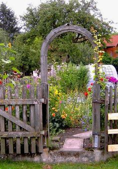 Flowers make the  vegetable garden so much more vibrant