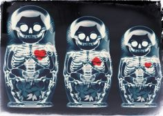 X-Ray nesting dolls