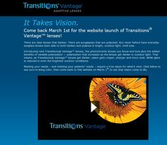 Transitions Optical, Inc. launched the latest breakthrough in adaptive lens technology – variable polarization