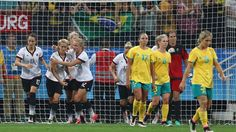#Matildas result disappointing for fans, but #Germany fought well to pull it back.