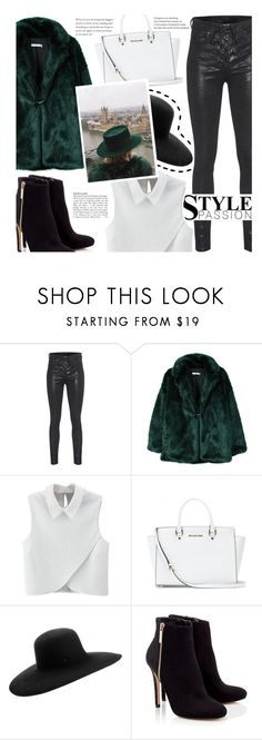 """Be a girl with a mind, a woman with attitude, and a lady with class."" by perfectharry ❤ liked on Polyvore featuring rag & bone, MANGO, WithChic, MICHAEL Michael Kors, Maison Michel and Lipsy"