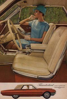 '65 Thunderbird Special Landau. And yes, we really wore white gloves and hats when we went to church, etc.
