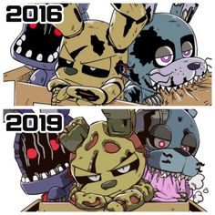 I'm so sad that this fandom is dead. Fnaf 4, Anime Fnaf, Freddy S, Five Nights At Freddy's, Pokemon Comics, Pokemon Cards, Fnaf Wallpapers, Fnaf Night Guards, Fnaf Characters