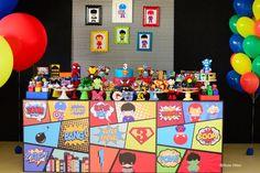 Super Heróis by Ideia Chic – Inspire sua Festa ®
