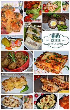 Retet cu carne tocata Dukan Tandoori Chicken, Ethnic Recipes, Food, Eten, Meals, Diet