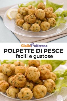 Polpette di pesce Fish balls: served hot or warm, these delicious balls are perfect both as an appetizer and as a main course. Fish Recipes, Healthy Recipes, Antipasto, Eating Habits, Soul Food, Food Porn, Food And Drink, Appetizers, Chicken