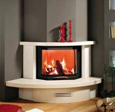 traditional mantel for corner fireplace (marble) CAMELIA MCZ