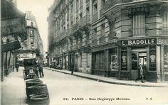 Rue Hégessipe Moreau  (carte de 1915)