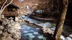 Rotenburo : Takaragawa Onsen, Gunma-ken, Japan / Japón by Lost in Japan, by Miguel Michán, via Flickr