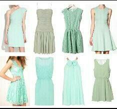 Dresses Aqua
