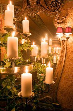 Wedding Candles, Wedding Lighting, Reception Decor    Colin Cowie Weddings