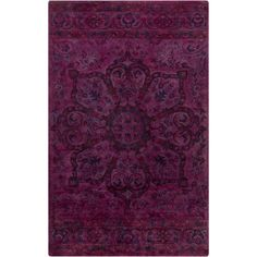 Parthian Magenta (Pink) 3 ft. 3 in. x 5 ft. 3 in. Indoor Area Rug