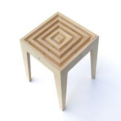 my new stool by multi talented Lithuanian designer Dalius Razauskas!