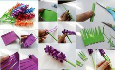 Manualidades fciles para San Valentn Flores DIY  Handfie DIY