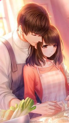 Wall Paper Anime Manga Character Design Ideas For 2019 Anime Couples Cuddling, Romantic Anime Couples, Anime Couples Drawings, Anime Couples Manga, Cute Anime Couples, Couple Amour Anime, Couple Anime Manga, Anime Love Couple, Love Cartoon Couple