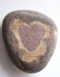 Heart stone-a stone with a heart! I love it!