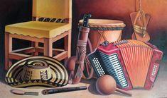 cuadro típico región caribe, Colombia. Miguel Tapia Jukebox, Home, Musica, Whales, Wine Cellars, Caribbean