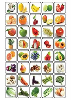 bingo over fruit Nutrition Activities, Preschool Activities, Fruit And Veg, Fruits And Vegetables, Bingo, Preschool Worksheets, Kids Education, Kids And Parenting, Teaching Kids
