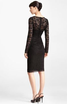 Dolce Lace Dress | Nordstrom  I want this in white!!
