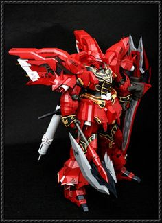 MSN-06S Sinanju Ver.4 Free Gundam Paper Model Download - http://www.papercraftsquare.com/msn-06s-sinanju-ver-4-free-gundam-paper-model-download.html