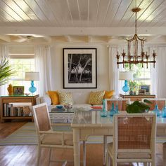 Glamorous Retreats, by Jan Showers- The Glam Pad love the chandelier!!