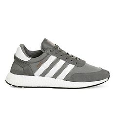 separation shoes 74fe5 2e5df ADIDAS - Iniki low-top suede and mesh trainers  Selfridges.com Adidas Iniki