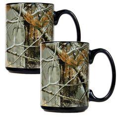 Open Field 2Pc Ceramic Mug Set